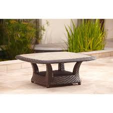 High Back Patio Chair Cushions Brown Jordan Highland Patio Chat Table Stock Dy Tqr The Winsome