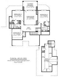 cottage with loft floor plans