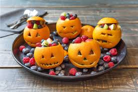 Vegetarian Halloween Appetizers 8 Healthy Halloween Treats For Kids Hellofresh