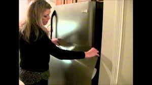 How To Decorate Stainless Steel How To Install Amazing Faux Stainless Film Great 4 Apartments