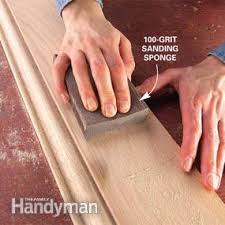 finishing wood trim with stain and varnish family handyman