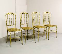 chaivari chairs polished brass chiavari chairs by giuseppe gaetano descalzi 1950s