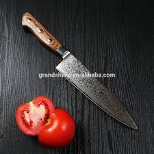 grand sharp 7 inch japanese vg 10 damascus steel santoku knife