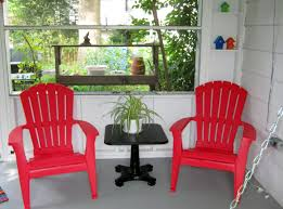 furniture charming plastic adirondack chairs lowes for outdoor