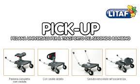 pedana per passeggino universale pedana universale per passeggini up litaf colore grigio