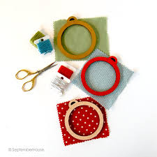 embroidery frame for ornaments diy wood frame for