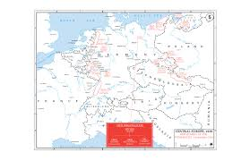 Where Is Germany On The Map by Department Of History Wwii European Theater