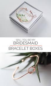 bracelet box images Will you be my bridesmaid gift bracelet bridesmaid proposal box jpg
