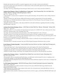 Resume Schedule 2014 Fl Event Marketing And Promotional Resume
