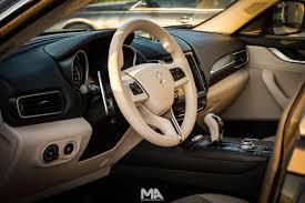 maserati zegna test drive maserati levante review in qatar mawater arabia