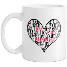 godmother mugs personalised i my godmother mug find me a gift
