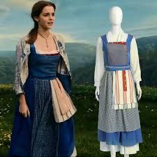 Halloween Costumes Belle Beauty Beast Cheap Beauty Beast Belle Blue Costume Aliexpress