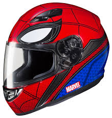 hjc motocross helmet hjc cs r3 spiderman helmet cycle gear