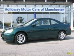 honda civic ex 2001 2001 clover green honda civic ex coupe 53980792 gtcarlot com