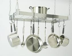 Pots And Pans Cabinet Rack Kitchen Inspiring Hanging Appliance Storage Ideas With Pictures