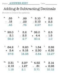 multiplying by powers of ten with decimals decimals pinterest