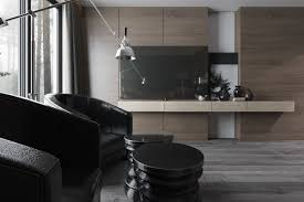 Inspiration Ultra Luxury Apartment Design by Three Luxurious Apartments With Dark Modern Interiors