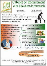 les bureaux de recrutement au maroc femme de ménage pour maroc et tunisie services abidjan