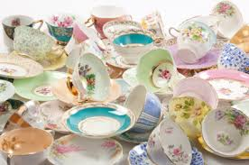 vintage china crockery hire for weddings special events colwyn