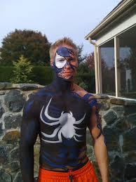 venom body paint by philadelphia body painter jennifer montgomery
