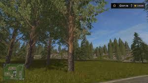 ls that look like trees tall pine trees v1 0 farming simulator 2017 mods ls mods 17 fs