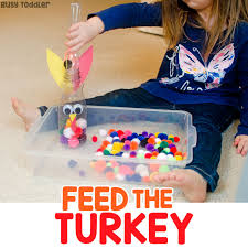 feed the turkey thanksgiving activity busy toddler