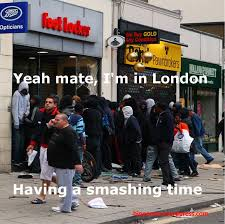 Meme London - riot charlie having a smashing time â bio pã rco