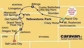 Caravan Mount Rushmore Tour Rushmore Monument S Dakota