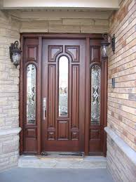 Traditional Exterior Doors Solid Wood Front Doors Modern Solid Wood Exterior Front Doors