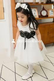 robe de fille pour mariage agréable robe mariage pour fille en organza col orné par