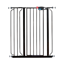 Extra Wide Pressure Fit Safety Gate Amazon Com Regalo Deluxe Easy Step Extra Tall Gate Black