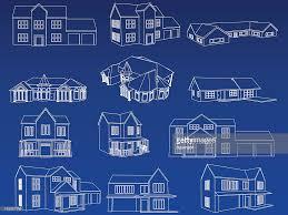 Home Blueprint Design Home Blueprint Collection Vector Art Getty Images