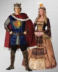 King Queen Halloween Costumes Renaissance Clipart King Queen Pencil Color