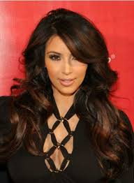 photo black hair with chocolate brown highlights pictures