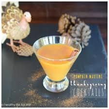 pumpkin martini a healthy for me