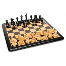 grand jacques ebony chess set u2013 triple weighted pieces w ebony