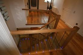 oak and glass staircase staircases glass staircases grand