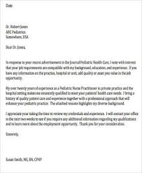 unique cover letter for pediatric nurse 91 for cover letter for