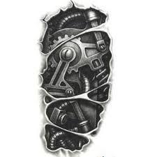 tattoo 3d mechanical wholesale temporary tattoos 3d black mechanical arm fake tattoos