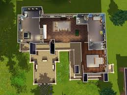 house layout mod the sims the prairie house no cc