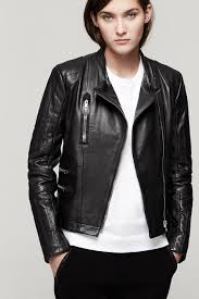 jacket moto rag u0026 bone chamonix moto jacket in black lyst