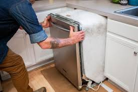 kitchen sink cabinet with dishwasher how to remove a dishwasher hgtv