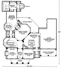 southern home floor plans house plan 120 1954 4 bedroom 4345 sq ft colonial