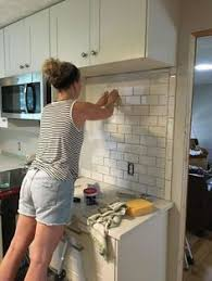 subway kitchen backsplash how to install a kitchen backsplash the best and easiest tutorial