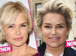 yolanda fosters hair yolanda foster s unrecognizable face exposed i haven t worn
