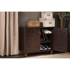 entryway shoe storage cabinet entryway shoe storage cabinet wholesale interiors baxton the