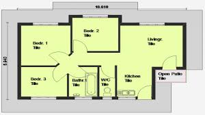 3 bedroom house blueprints 11 modern 3 bedroom house plans and designs arts in south africa