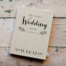 wedding gift journal wedding journal notebook wedding planner personalized