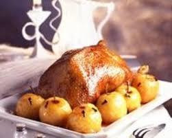 comment cuisiner l oie recette oie rôtie aux pommes