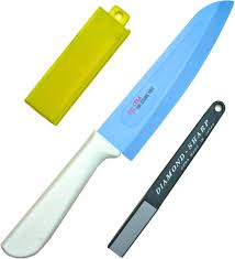 ceramic kitchen knives forever cera sentoku ceramic kitchen knife 16 5cm 6 5 sharpener